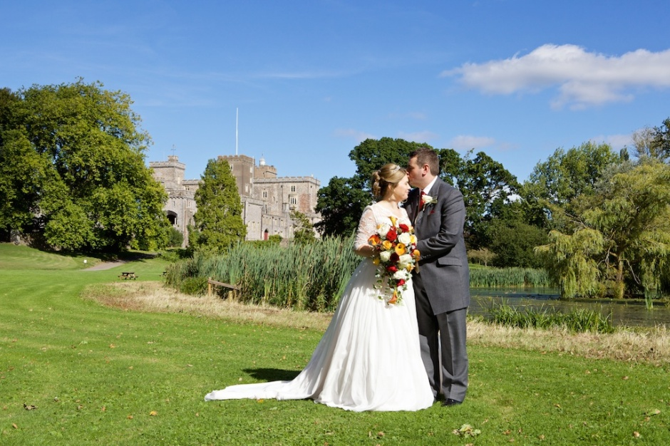 Devon wedding photographer Powderham castle 045
