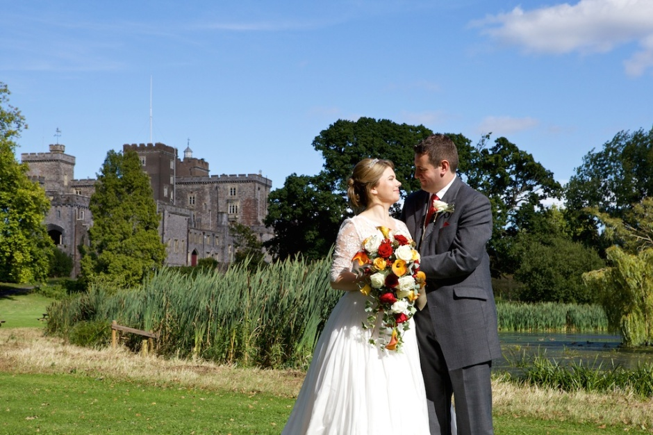 Devon wedding photographer Powderham castle 046