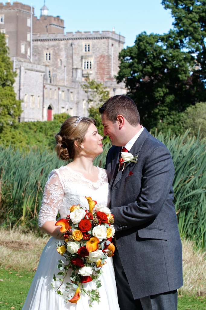 Devon wedding photographer Powderham castle 047